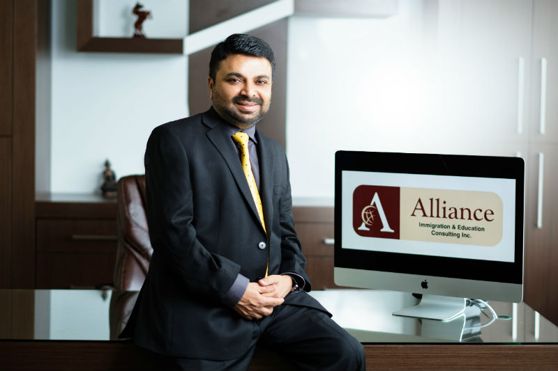 Contact - Rakesh Sharma - Alliance Immigration